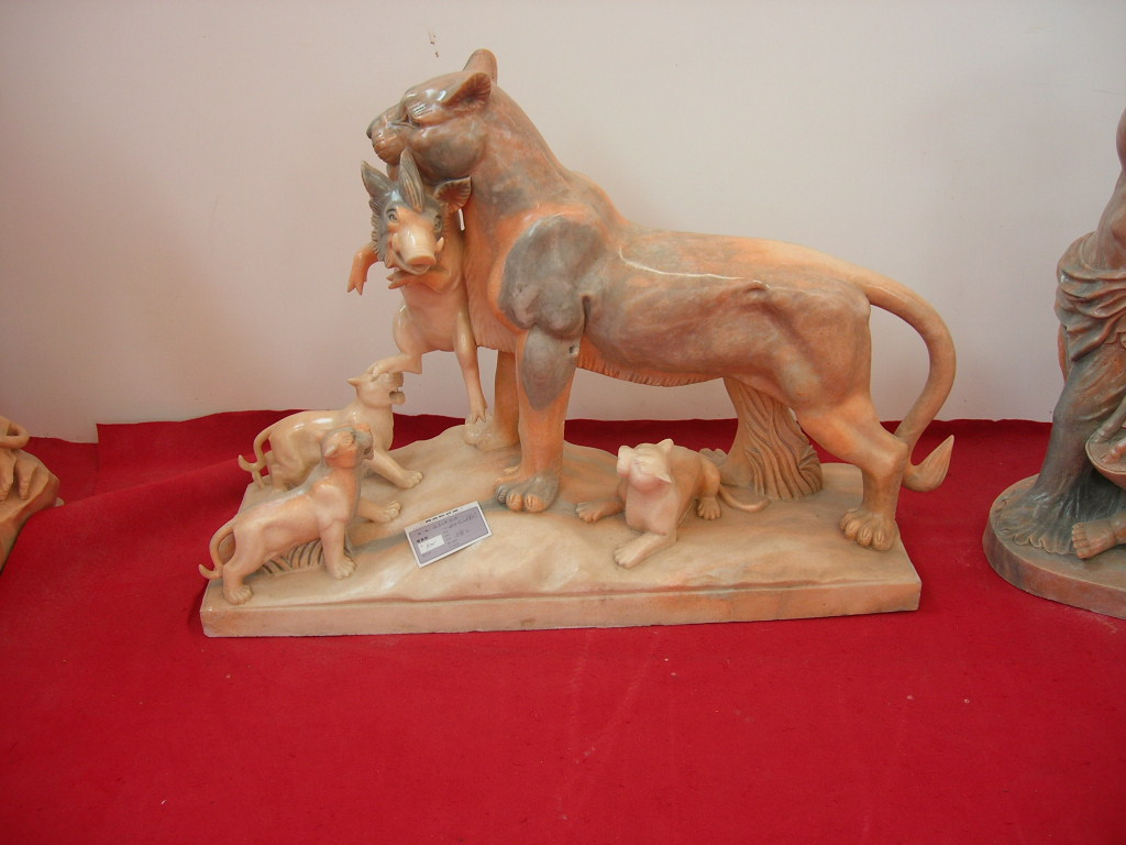 marble Tiger Sculpture