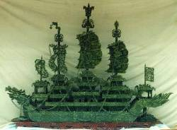 JADE DRAGON BOAT (BJ228)