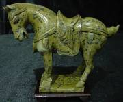 Jade Horse M02, Price = $ 89.99 + S/H size approx H. 8 inch x L. 8 inch