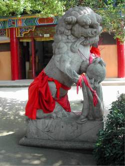 Fu Dogs in Wuhan, Hubei, China