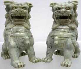 Jade Foo Dogs.