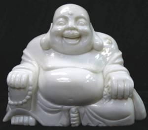 WHITE JADE BUDDHA