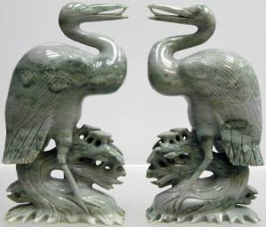 JADE DRAGON CRANES (D05) Price = $ 39.99 + S/H