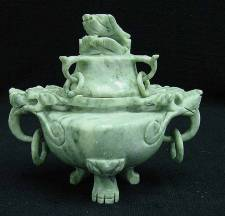 JADE DRAGON insence burner (HJ002A) Price = $ 79.99 + S/H