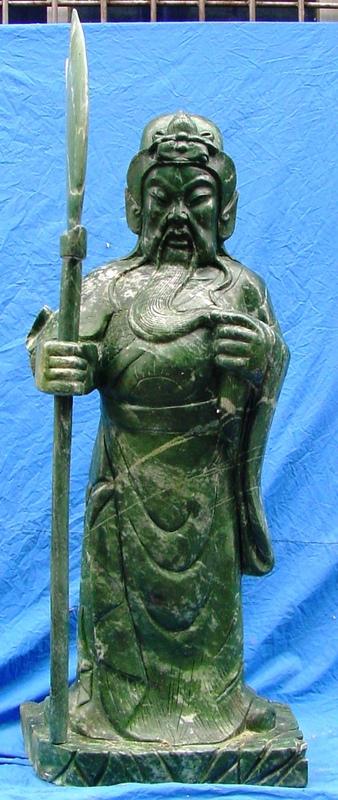 general kwan statue