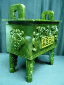JADE DRAGON insence burner