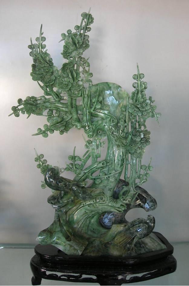 Jade carving sculpture stone carvings