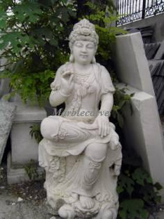 kwan yin Marble Carving Sculpture