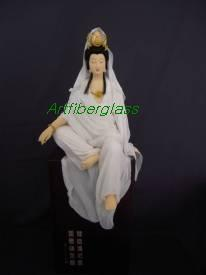 Kwan Yin Carving Statue