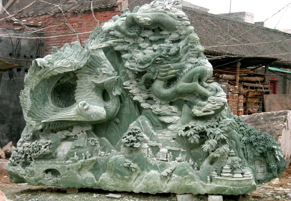 Jade Carving Great Wall Jade Carving Cn0182