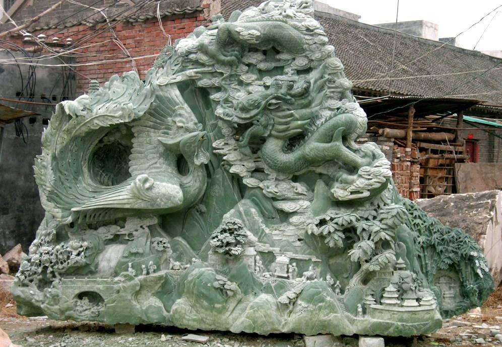 Jade carving great wall cn
