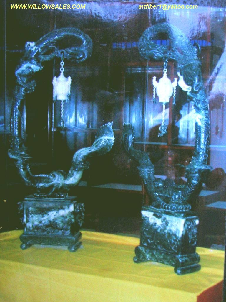 jade dragon carvings jade carving garden sculpture photo image