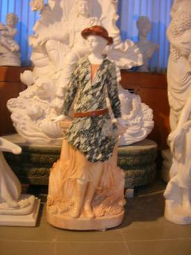 marble carving, Marble Garden Carving photo