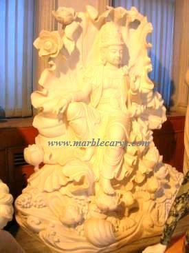 Kwan Yin Carving Sculpture