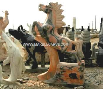 MANY LARGE MARBLE AND JADE SCULPTURE CARVINGS AVAILABLE! CLICK PHOTO FOR MORE INFO>