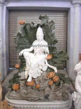 Kwan Yin Carving Sculpture