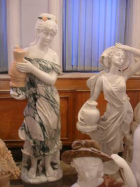 marble carving, Marble Garden Girls Carving photo