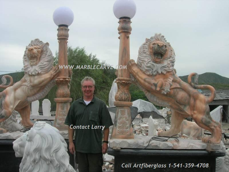Marble Lions