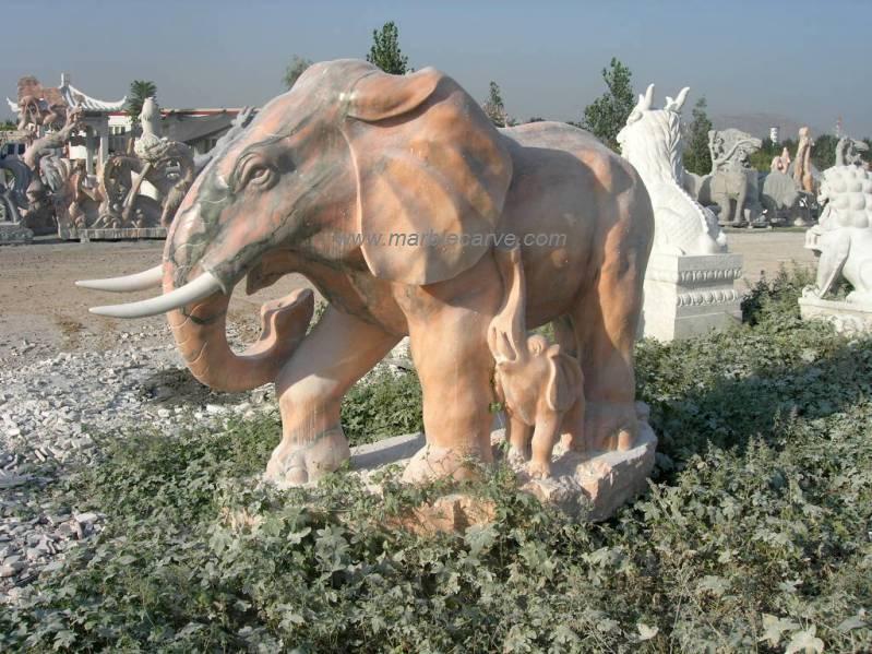 marble elephant Statue, marble elephants