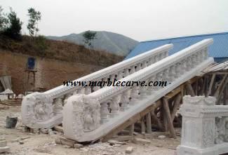 marble balustrade