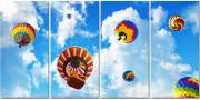 4 panel layout Radiant sky cloud ceiling lens diffuser