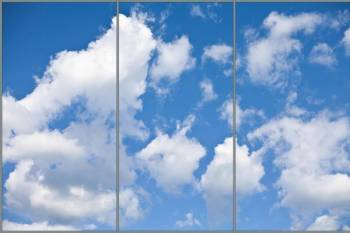 Scattered Clouds Panorama sky cloud ceiling lens diffuser
