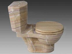 stone Toilet