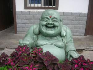 Jade Buddha Carving Photo