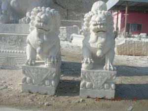 fudog carving