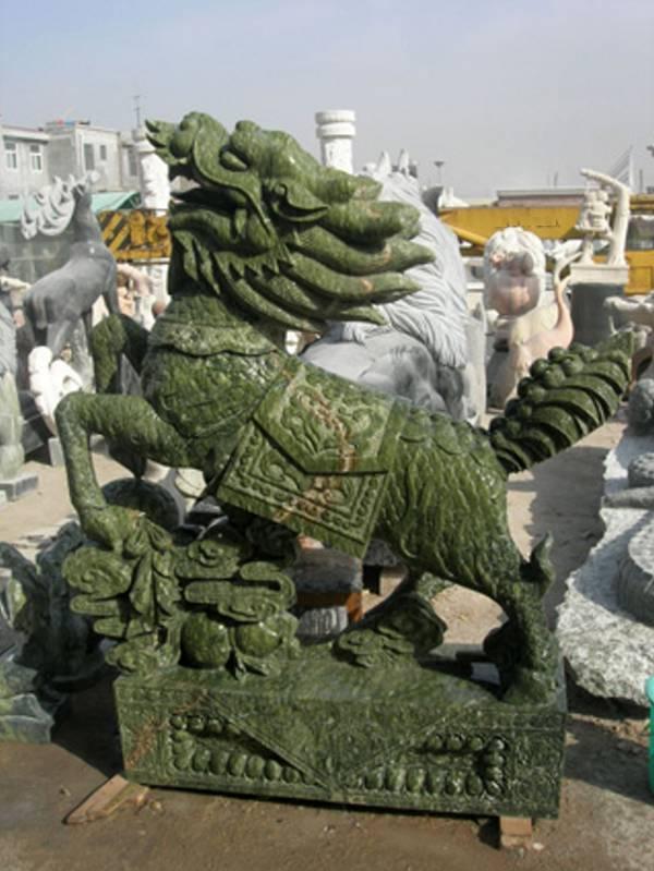 jade dragon, Jade Qilin