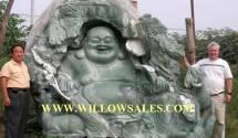 jade buddha carving sculptures