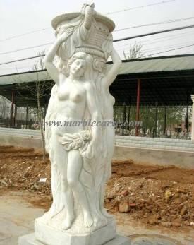 marble 3 graces statue