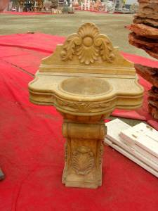 marble wash basin Carving