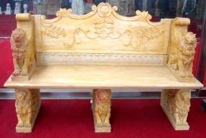 marble Bench Carving