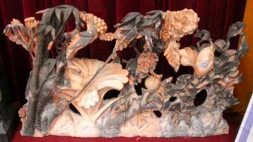 marble Flower sculpture Carving