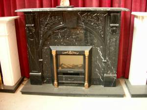 marble Mantle Carving