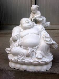 Happy buddha statue Carving