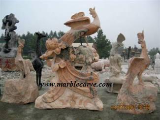 marble Phoenix Statue