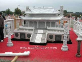 marble Temple Statue